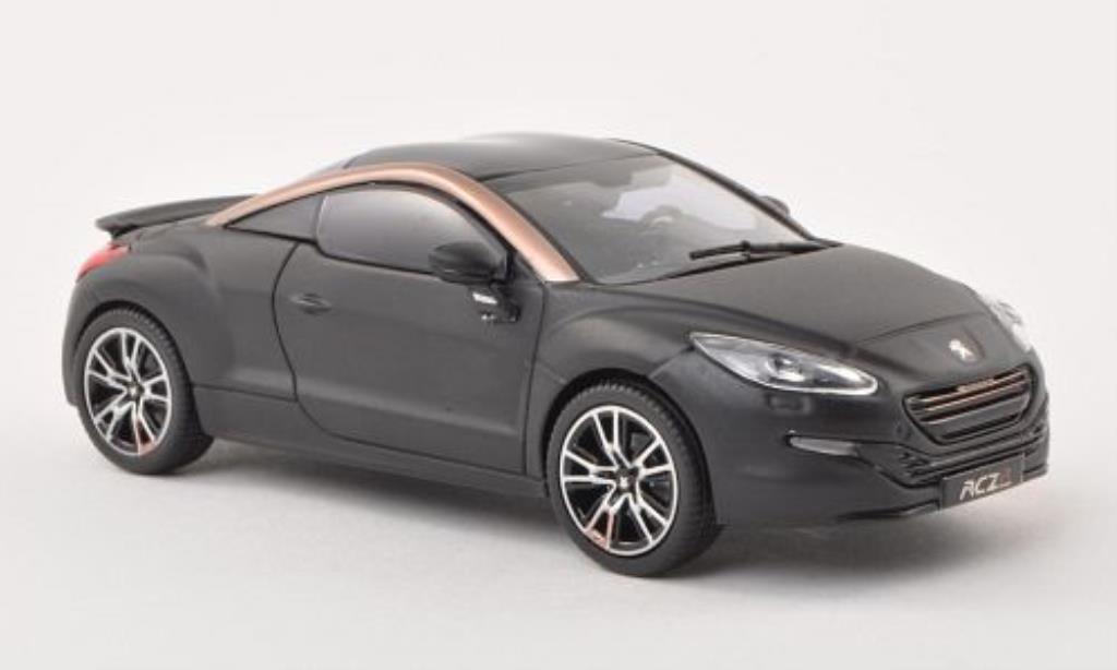 Peugeot RCZ 1/43 Norev R Concept matt-noire/kupfer/noire Autosalon Paris 2012 miniature