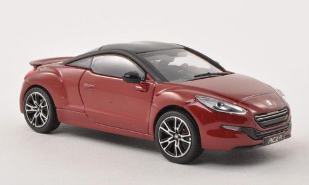 Peugeot RCZ 1/43 Norev R rouge/matt-noire 2013 miniature