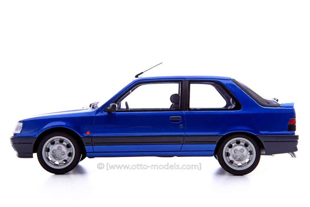 Peugeot 309 GTI 16 1/18 Ottomobile 16s bleu miami predotype diecast model cars