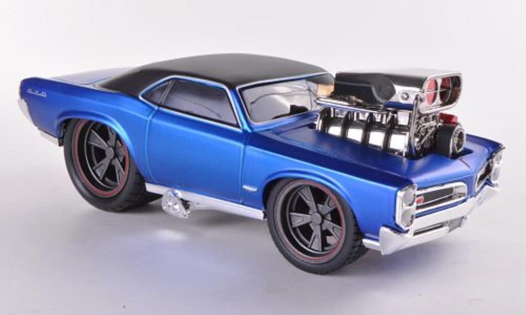 Pontiac GTO 1/24 Maisto bleu/noire 1966 miniature