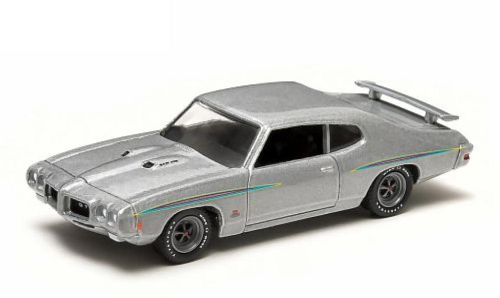 Pontiac GTO 1/64 Greenlight Judge gray 1970 diecast