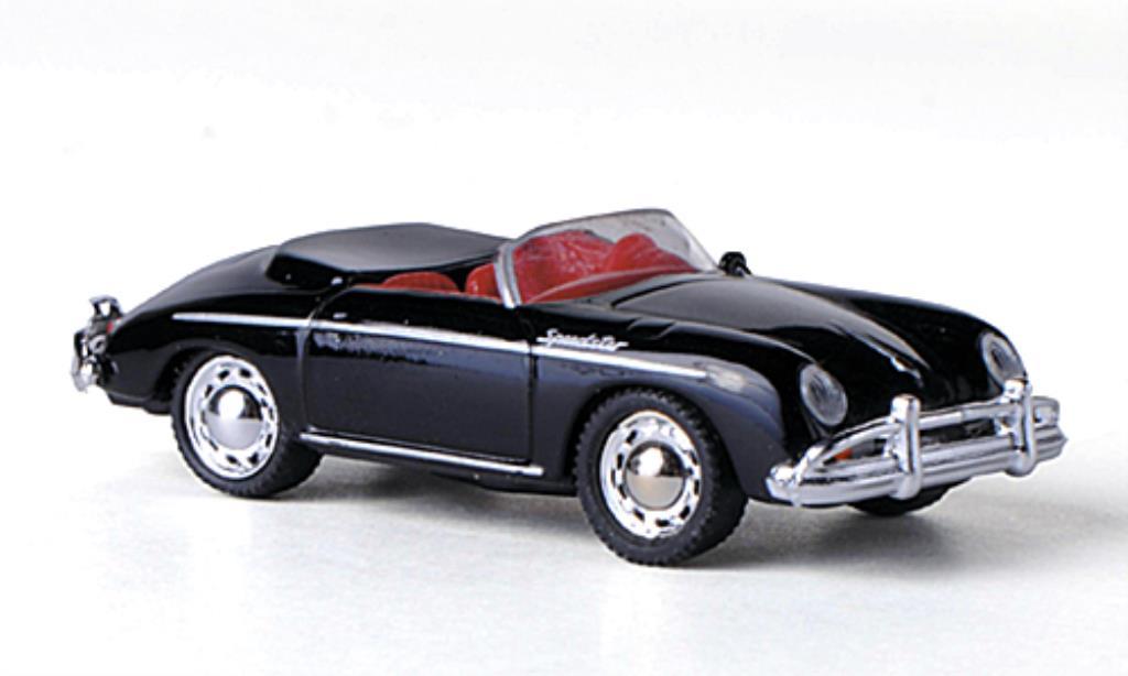 Porsche 356 A 1/87 Schuco Speedster noire miniature