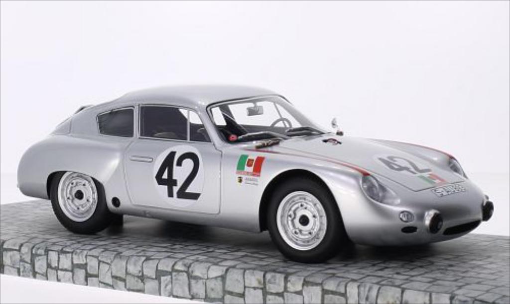 Porsche 356 B 1/18 Minichamps 1600 GS Carrera GTL Abarth No.42 Scuderia SSS Targa Florio 1962 /H.Linge miniature
