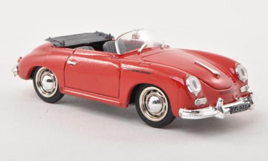Porsche 356 1/43 Brumm Speedster red 1952