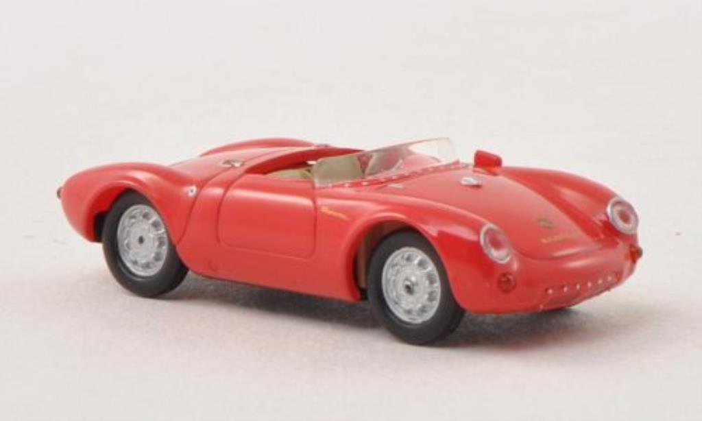 Porsche 550 1/87 Busch Spyder rouge 1953 miniature