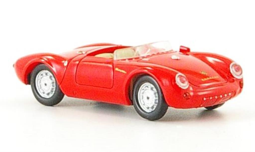 Porsche 550 1/87 Ricko Spyder red 1953 diecast