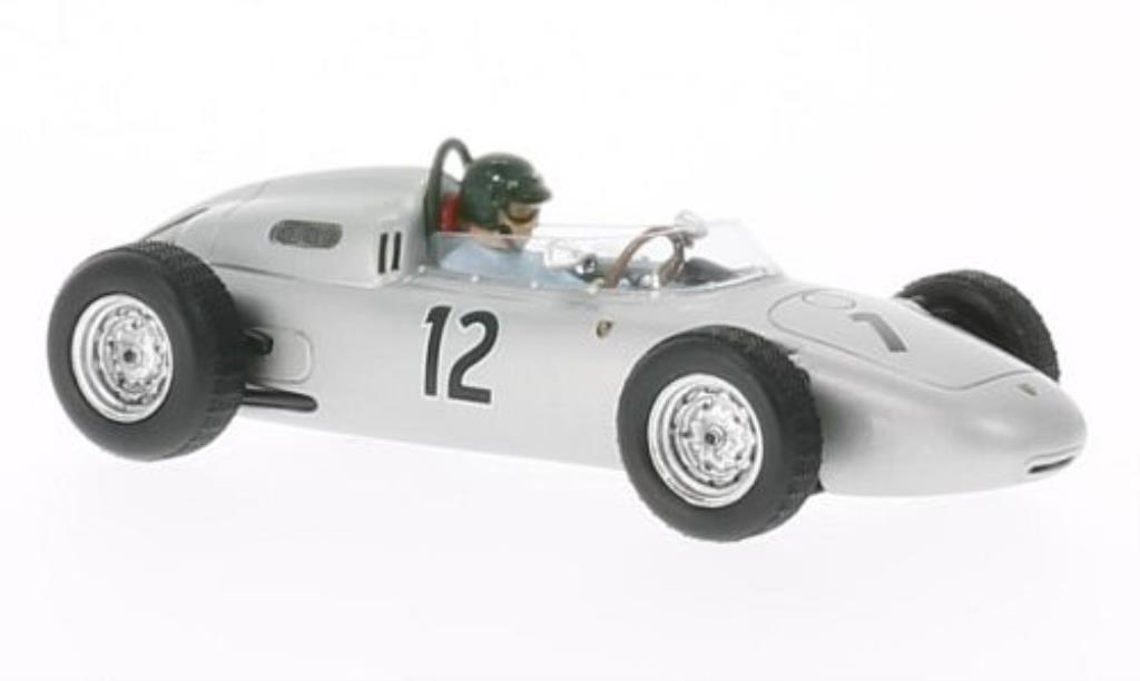 Porsche 718 1/43 Spark No.12 GP Frankreich 1961 diecast model cars
