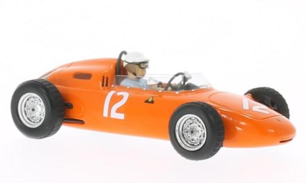 Porsche 718 1/43 Spark No.12 GP USA 1963 miniature
