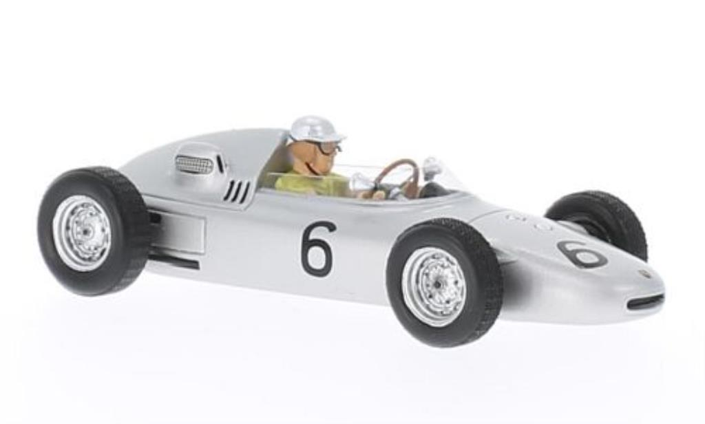 Porsche 718 1/43 Spark No.6 GP Monaco 1961 miniature