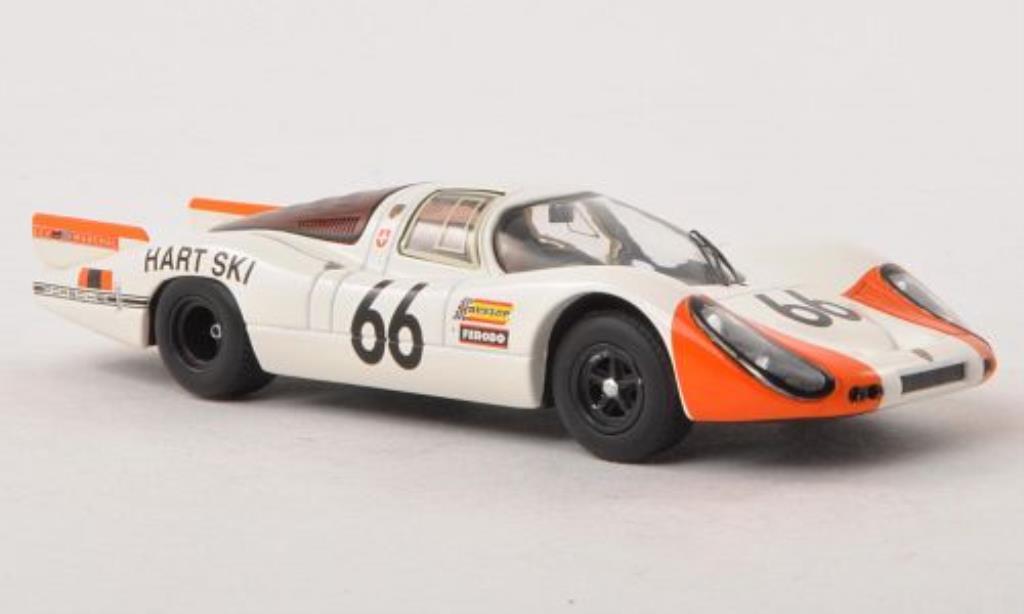 Porsche 907 1/43 Schuco Langheck No.66 Le Mans 1968 /Steinemann miniature