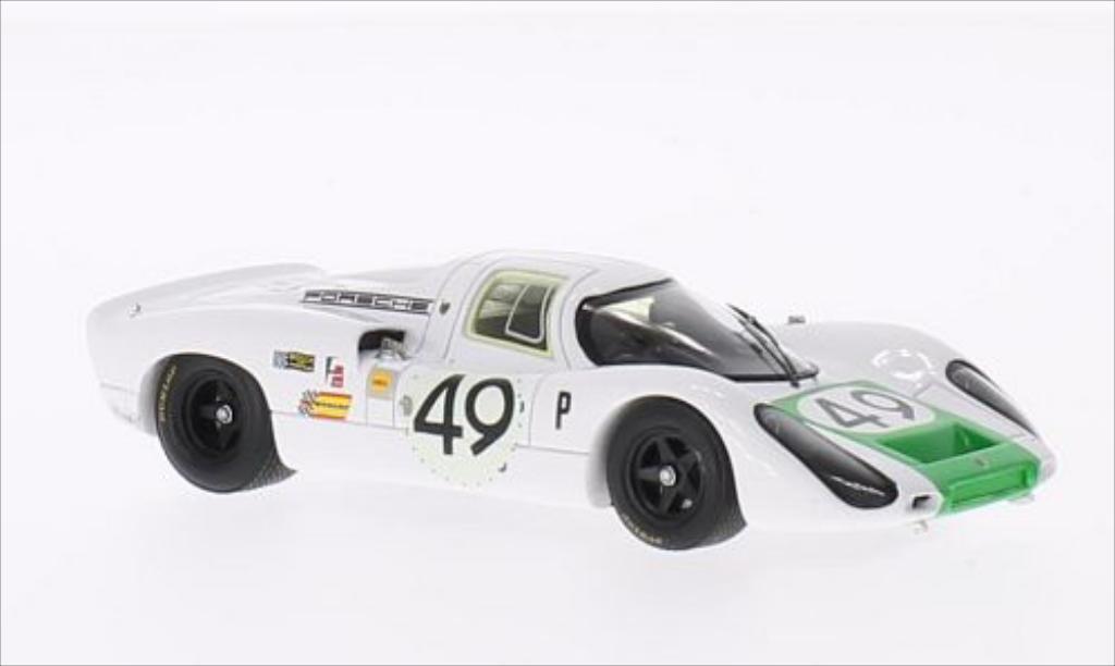 Porsche 907 1/43 Spark No.49 12h Sebring 1968 /J.Siffert miniature