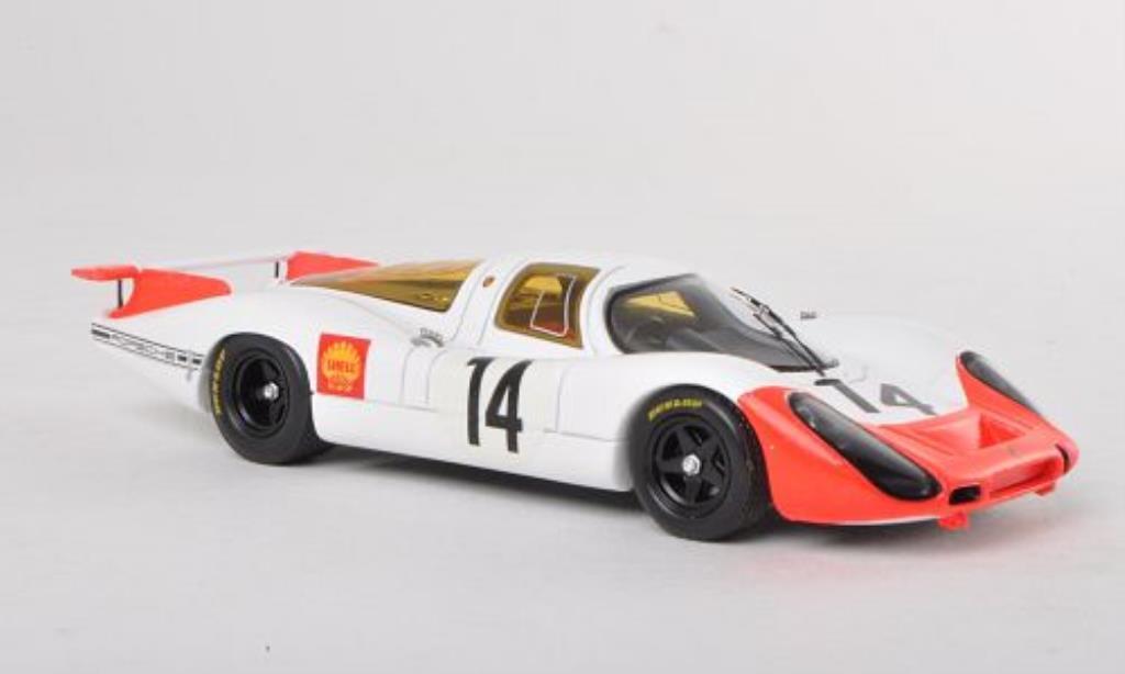 Porsche 908 1968 1/43 Spark No.14 1000km Paris /R.Lins miniature