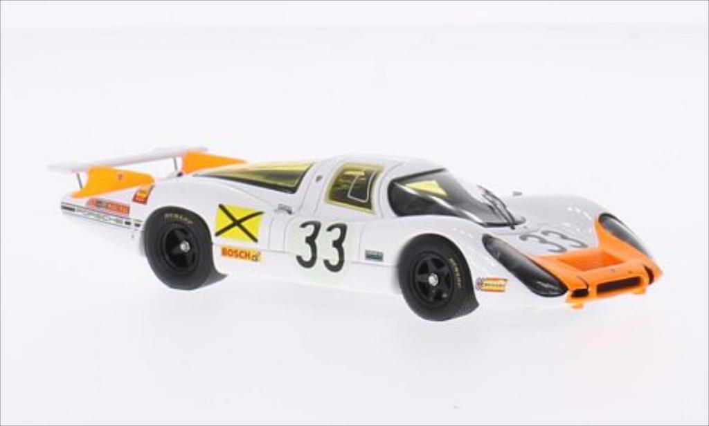 Porsche 908 1968 1/43 Spark No.33 24h Le Mans /R.Stommelen miniature