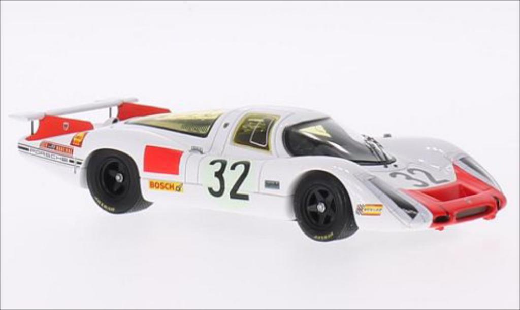 Porsche 908 1968 1/43 Spark RHD No.32 24h Le Mans /V.Elford miniature