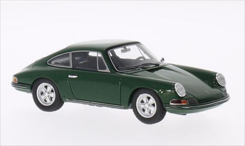 Porsche 911 1/43 Spark 2.0 S grun 1966 miniature