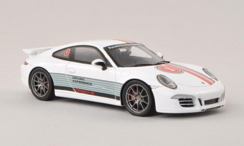 Porsche 991 Carrera 1/43 Spark 4S No.1 Porsche Driving Experience Instructor Winter 2014 miniature
