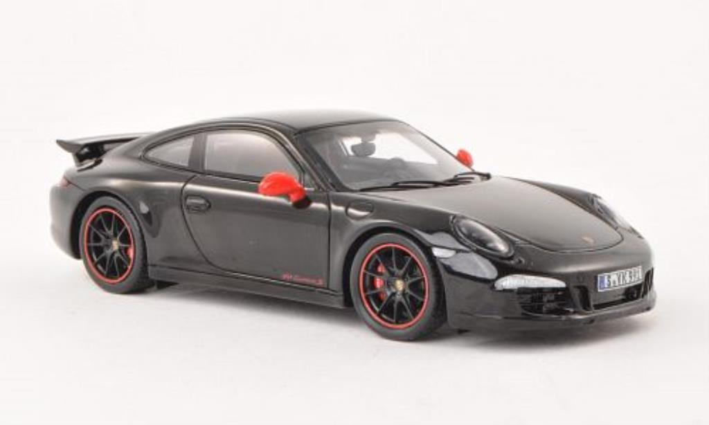 Porsche 991 S 1/43 Spark Carrera Exclusive noire miniature