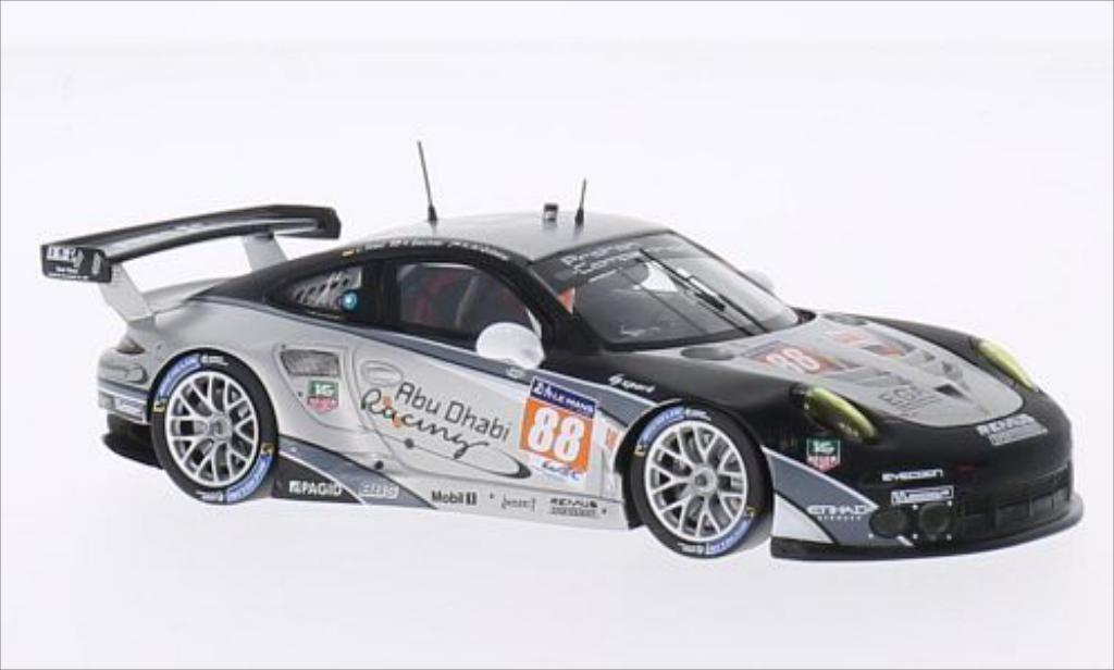 Porsche 991 R 1/43 Spark No.88 Prougeon Competition 24h Le Mans 2014 /K.Al miniature