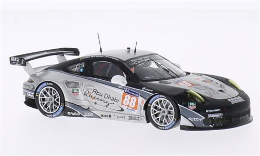 Porsche 991 R 1/43 Spark No.88 Projoon Competition 24h Le Mans 2014 /K.Al coche miniatura