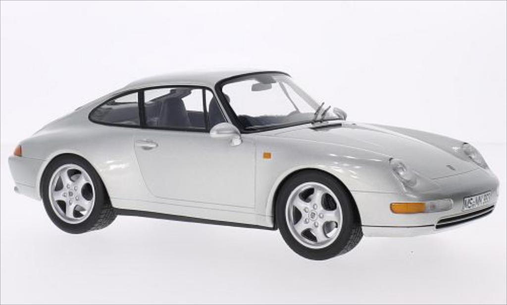 Porsche 993 Carrera 1/18 Norev gray 1993 diecast