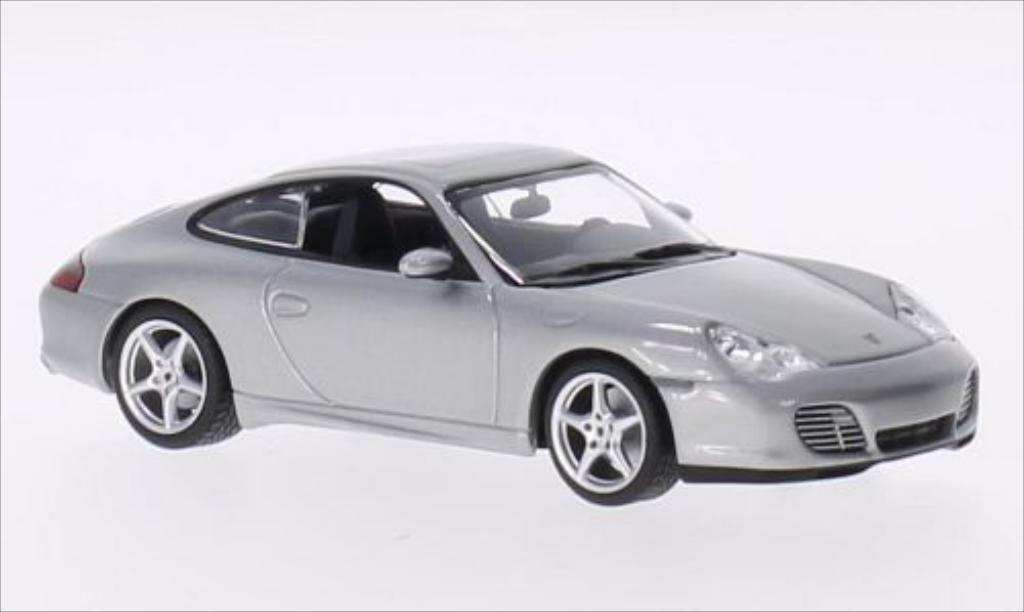 Porsche 996 Carrera 1/43 Minichamps 40 Jahre 911 gray 2003 diecast