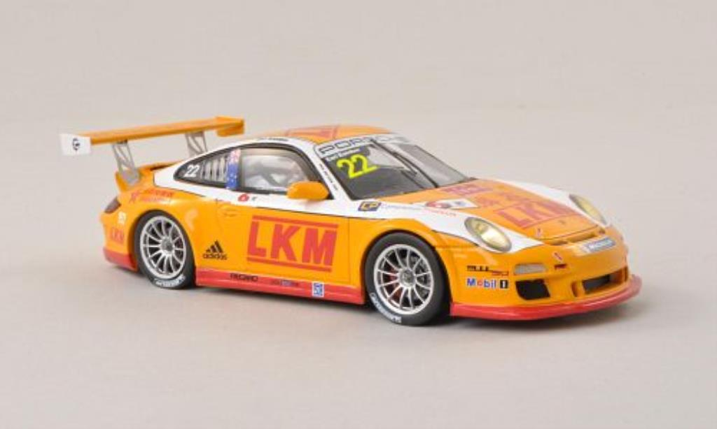 Porsche 997 GT3 CUP 1/43 Spark GT3 Cup No.22 Carrera Cup Asia - Macau 2013 miniature