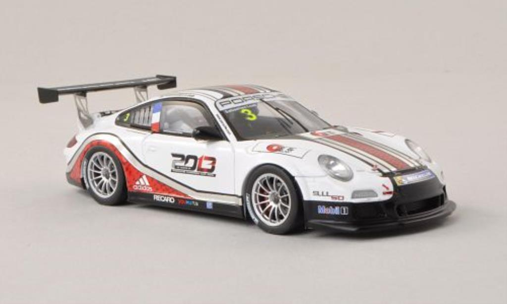 Porsche 997 GT3 1/43 Spark Cup No.3 Carrera Cup Asia - Macau 2013 diecast