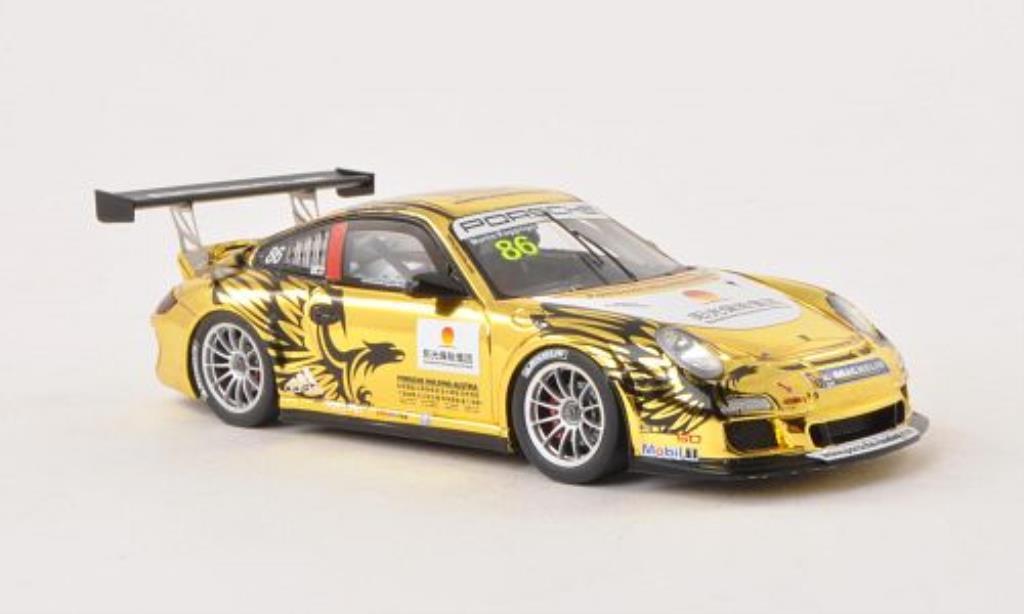 Porsche 997 GT3 CUP 1/43 Spark GT3 Cup No.86 Carrera Cup Asia 2013 miniature