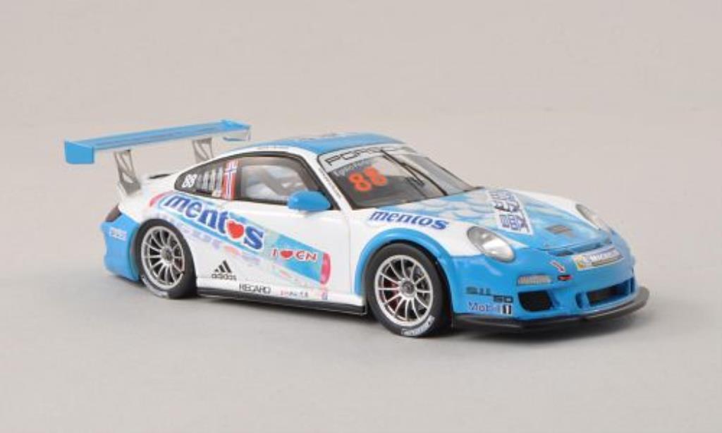 Porsche 997 GT3 1/43 Spark Cup No.88 Carrera Cup Asia 2013 diecast