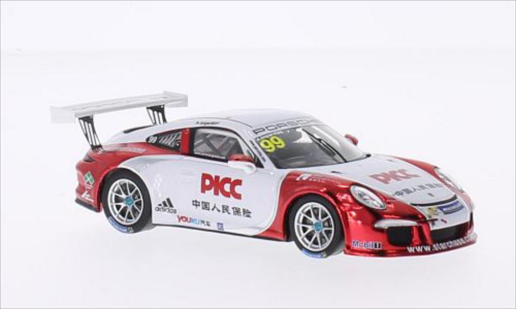 Porsche 997 GT3 CUP 1/43 Spark GT3 Cup No.99 PCCA 2014 miniature