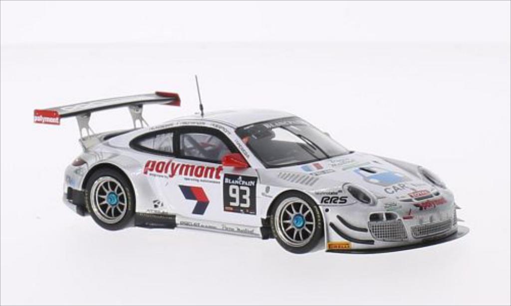 Porsche 997 GT3 1/43 Spark R No.93 Pro GT by Almeras 24h Spa 2014 /M.Bonanomi diecast model cars