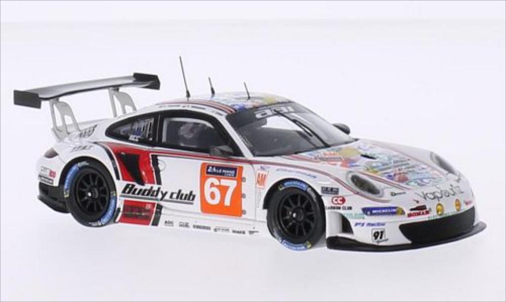 Porsche 997 GT3 1/43 Spark R No.67 AAI Motorsports 24h Le Mans 2015 diecast