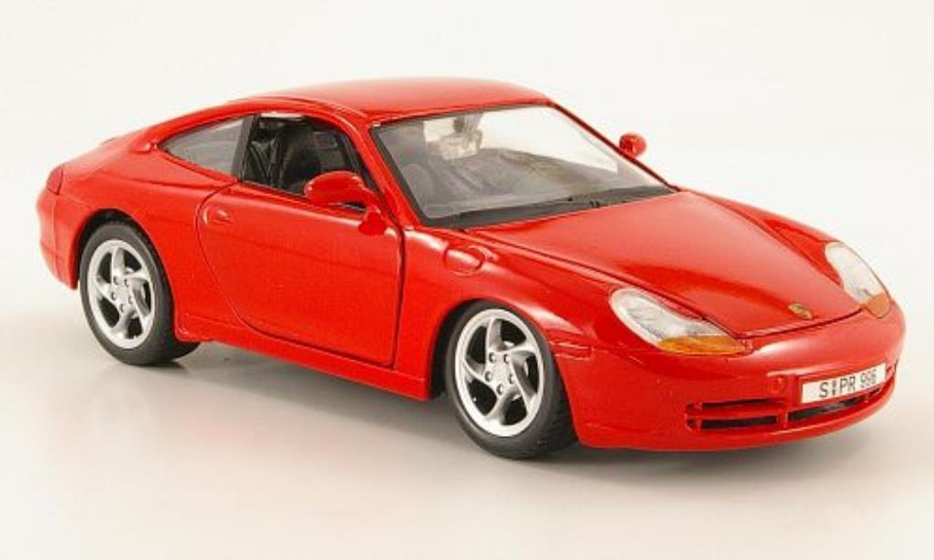 Porsche 996 1/24 Maisto Carrera rouge 1997 miniature
