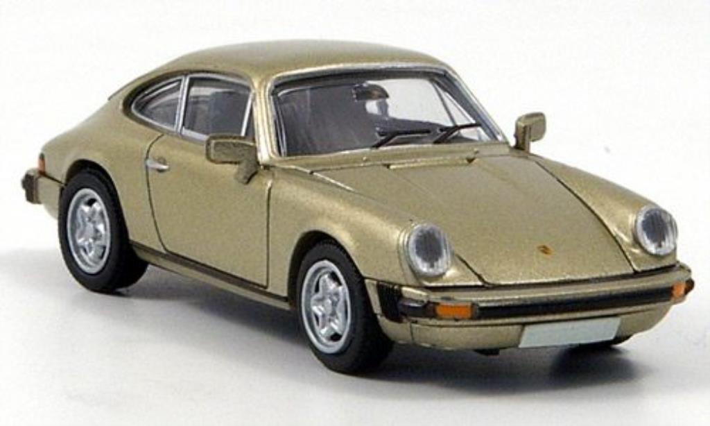 Porsche 911 1/87 Brekina Coupe beige-met. diecast