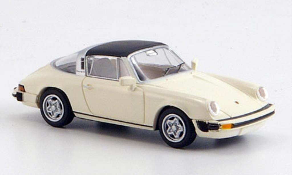 Porsche 911 1/87 Brekina G-Modell Targa blanche abnehmbares Dach miniature