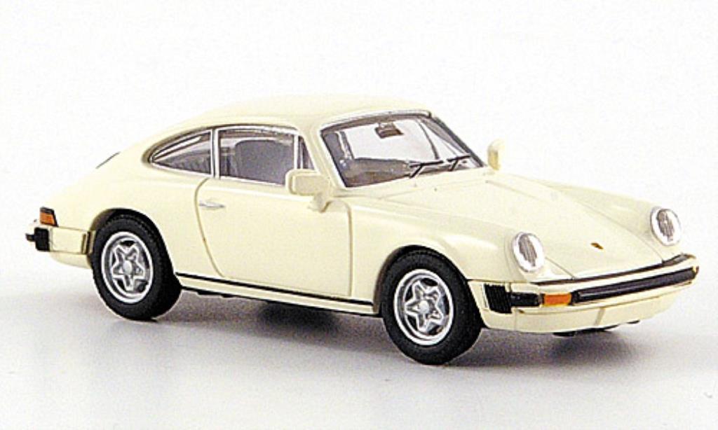 Porsche 911 1/87 Brekina G-reihe white diecast