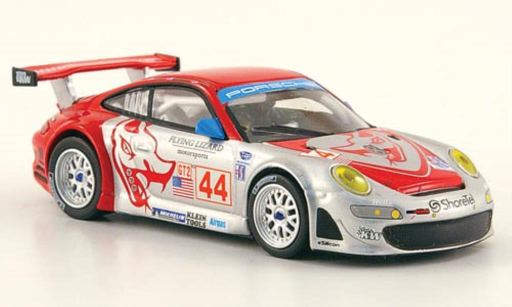 Porsche 997 1/64 Minichamps GT 3 R No.44 Flying Lizard GP Long Beach 2007 /Pechnik