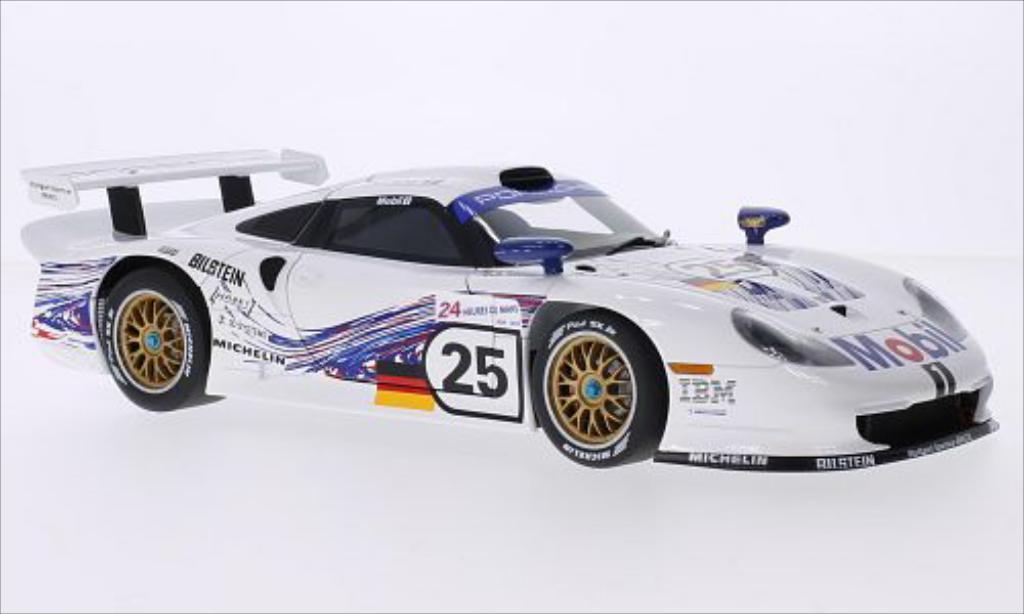 Porsche 993 1/18 Autoart GT1 No.25 24h Le Mans 1997