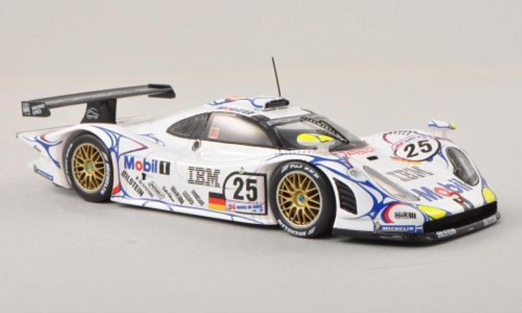 Porsche 996 GT1 1/43 Spark No.25 24h Le Mans 1998 /U.Alzen diecast model cars