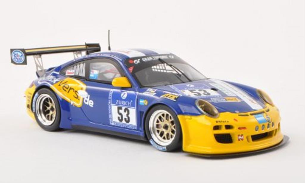 Porsche 997 GT3 1/43 Spark Cup No.53 24h Nurburgring 2013 /Dr diecast