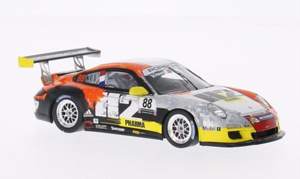 Porsche 997 GT3 1/43 Spark Cup No.88 H2 Pharma Carrera Cup Paul Ricard 2013 miniatura