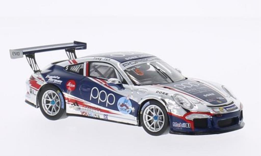 Porsche 991 GT3 Cup 1/43 Spark No.5 Tintin PCCA 2014 miniature