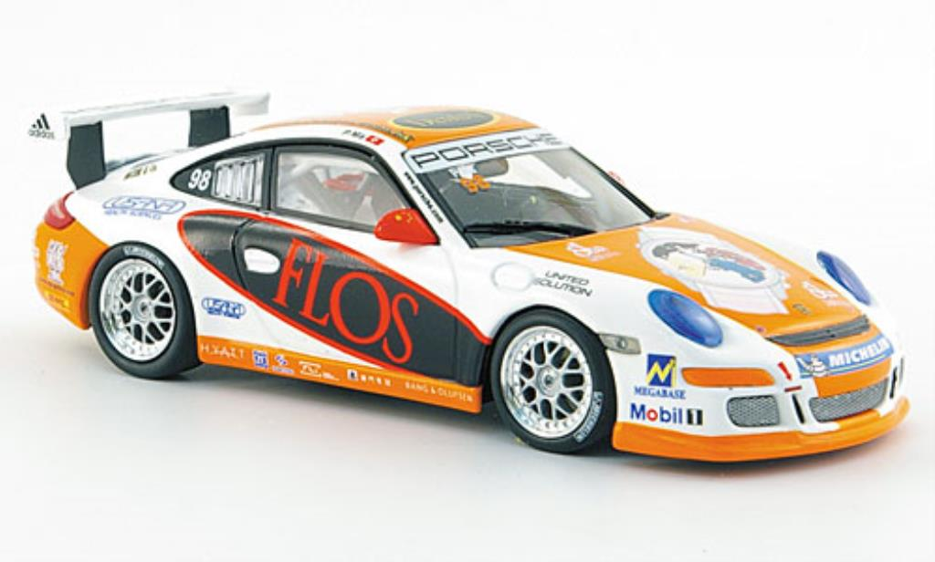 Porsche 997 GT3 CUP 1/43 Minichamps GT3 Cup No.98 P.Ma Carrera Cup Asien Macau 2007 miniature