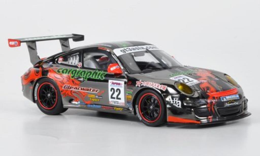 Porsche 997 GT3 CUP 1/43 Minichamps GT3 Cup S No.22 GT3 Asia Challenge Asian Festival Of Speed 2009 miniature