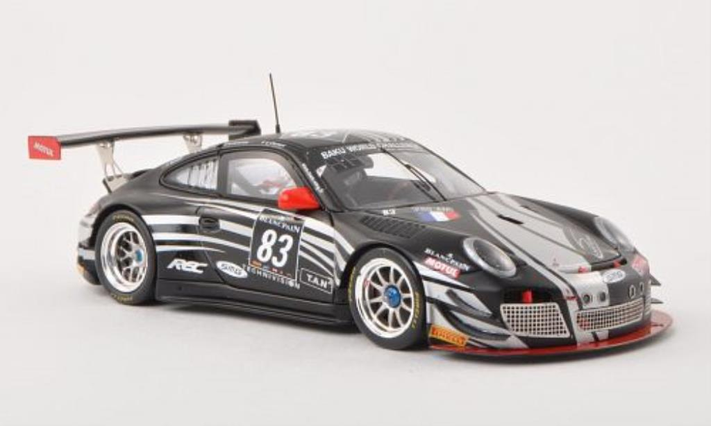 Porsche 997 GT3 1/43 Spark R No.83 Team SMG 24h Spa 2013 /R.Renauer diecast