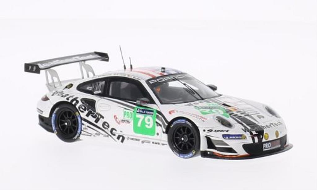 Porsche 997 GT3 1/43 Spark R No.79 Prospeed Competition 24h Le Mans 2014 /J.Bleekemolen diecast