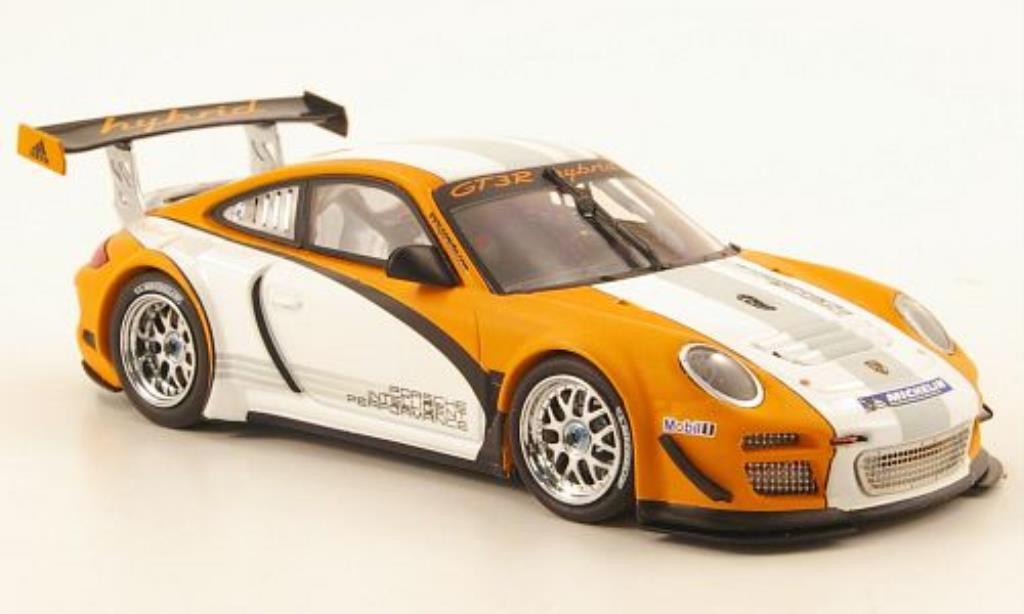 Porsche 997 GT3 1/43 Minichamps R Hybrid Prasentationsmodell 2010 diecast model cars
