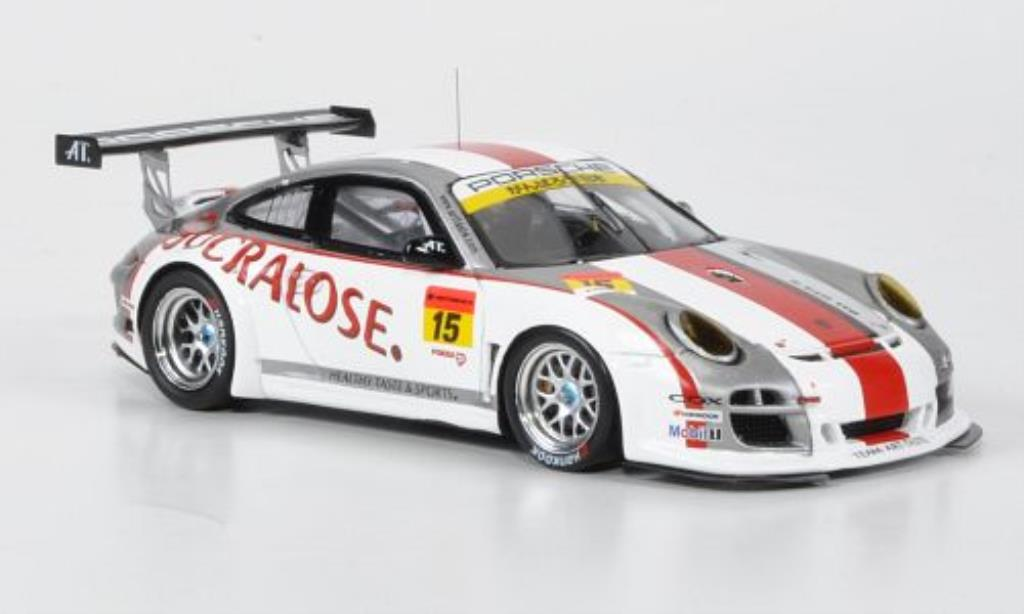 Porsche 997 GT3 1/43 Ebbro R No.15 Sucralose Super 00 2011 diecast model cars