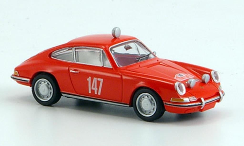 Porsche 911 1/87 Brekina No.147 Rallye Monte Carlo 1965 miniature