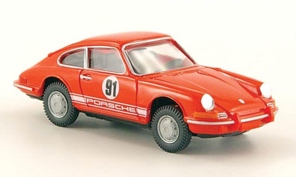 Porsche 911 1/87 Wiking No.91 Renndienst miniature